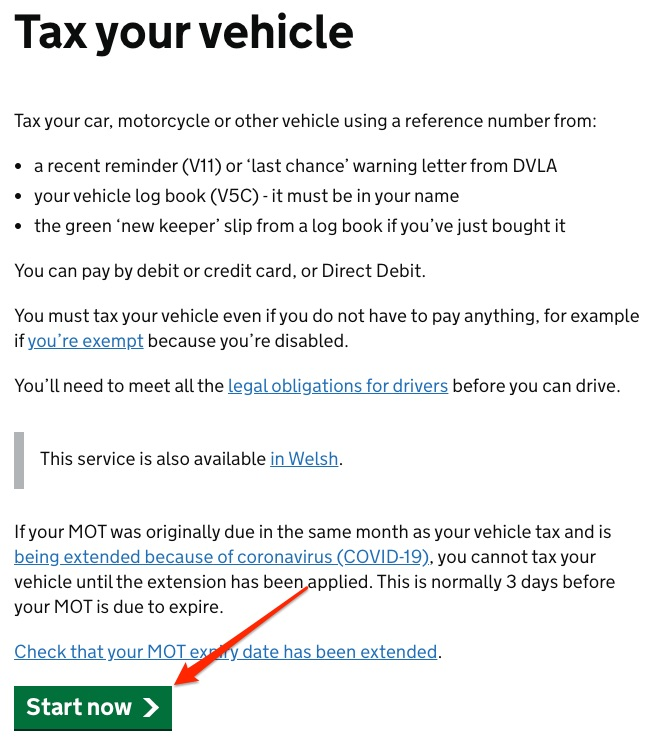 Tax your Tesla Electric Vehicle Online
